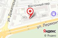 Схема проезда до компании Шайнмедиа в Ставрополе