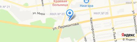 Торговая фирма на карте Ставрополя