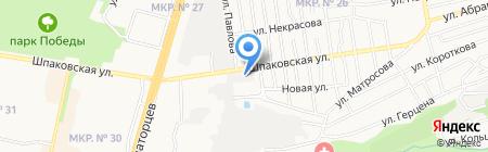 А-Студия на карте Ставрополя