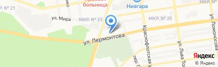 Оригинал на карте Ставрополя