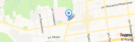 ОПОРА РОССИИ на карте Ставрополя