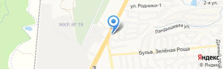 Крикс на карте Ставрополя