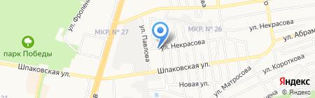 Радиосистемы на карте Ставрополя