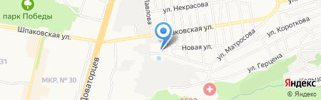 Офтальма на карте Ставрополя
