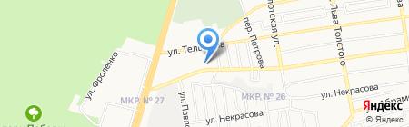 Лава на карте Ставрополя