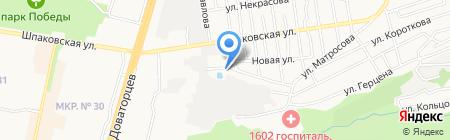 Спецстройгаз на карте Ставрополя