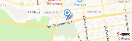 Интер-Авто на карте Ставрополя