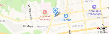Центр профессиональной ориентации на карте Ставрополя