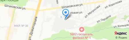 Кавказ на карте Ставрополя