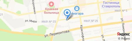 Kasika на карте Ставрополя