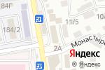 Схема проезда до компании Faberlic в Ставрополе