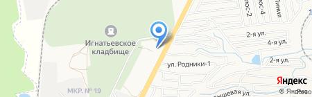 Любимый на карте Ставрополя