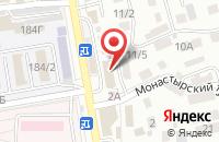 Схема проезда до компании Проспект в Ставрополе