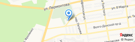 Домбай на карте Ставрополя