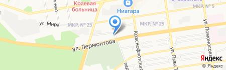 Отдел полиции №3 на карте Ставрополя