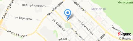 Атлант-Сервис на карте Ставрополя