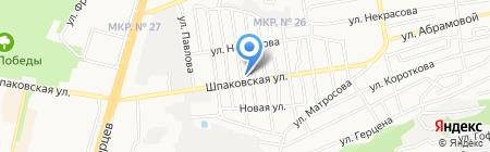 Строймагия на карте Ставрополя