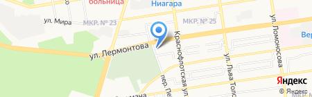 Всероссийское добровольное пожарное общество на карте Ставрополя