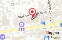 Схема проезда до компании Техностроймонтаж в Ставрополе