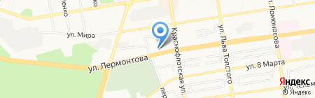 БельПостель на карте Ставрополя