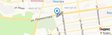 Приоритет на карте Ставрополя