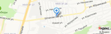 По пути на карте Ставрополя