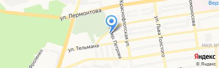 Главное Управление МЧС России по Ставропольскому краю на карте Ставрополя