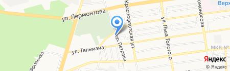 Билд-Ст на карте Ставрополя