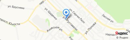 Почтовое отделение №18 на карте Ставрополя
