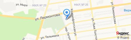 Ставропольский региональный центр аварийно-экологических операций на карте Ставрополя