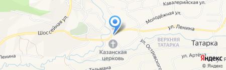 Лавр на карте Татарки