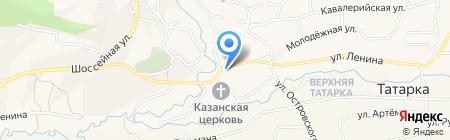 Северо-Кавказский банк Сбербанка России на карте Татарки