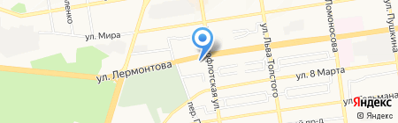 Бест Вэй на карте Ставрополя
