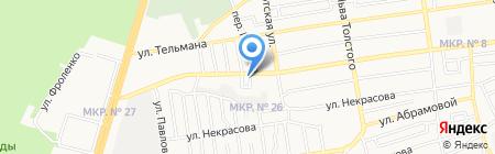 Carcade на карте Ставрополя