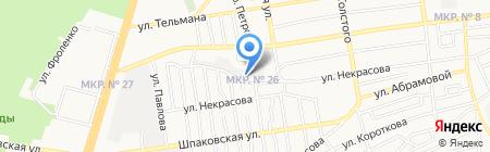 Мир-2 на карте Ставрополя