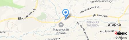 Средняя общеобразовательная школа №11 на карте Татарки