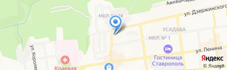 Управляющая компания-3 на карте Ставрополя