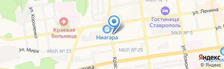 Витамин на карте Ставрополя