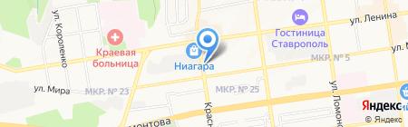 Белорусский на карте Ставрополя
