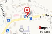Схема проезда до компании Продуктовый магазин в Татарке