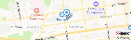 Бизнес-консалтинг на карте Ставрополя
