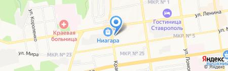 Судебная Экспертиза на карте Ставрополя