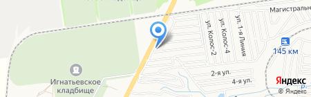 ЧТЗ-ДИЗЕЛЬ на карте Ставрополя
