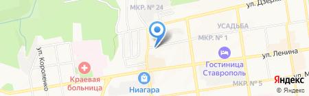 Микро маркет на карте Ставрополя