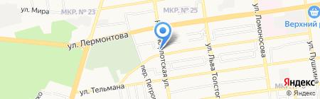 ШИНЫ и ДИСКИ на карте Ставрополя