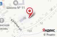 Схема проезда до компании Детский сад №7 в Татарке