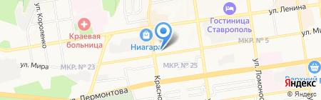 Мясная Лавка на карте Ставрополя