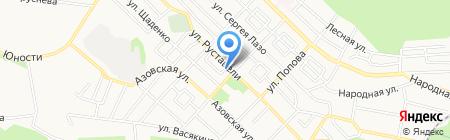 Белый ветер на карте Ставрополя