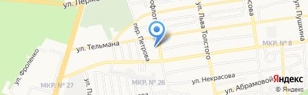 Средняя общеобразовательная школа №19 с углубленным изучением отдельных предметов на карте Ставрополя