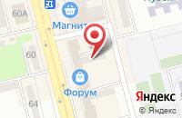 Схема проезда до компании Бархат в Невинномысске